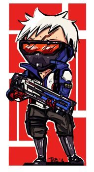 Soldier 76 by MikoKristy