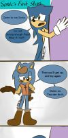 Sonic's First Steps. Pg. 1 by HFitz-Draw4Life