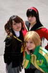 Chie, Yukiko and Rise by dangerousladies