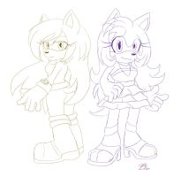 Pheobe and Nightcore ::S:: by Blue-the-Unknown