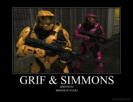 Grif and Simmons by Crosknight