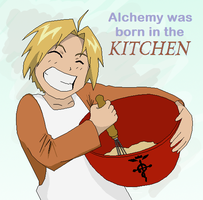 Alchemy in the Kitchen by sybersweetheart