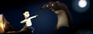 Bear fight by Reinder88