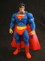 MOTUC custom Superman by masterenglish
