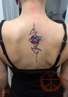 Watercolor abstract b1 by koraykaragozler
