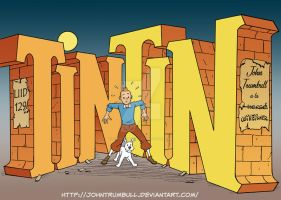 LIID 129: Tintin Will Eisner Tribute! by johntrumbull