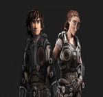 Gears of War: Hiccup and Valka by Authress