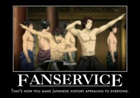 Hakuouki Fanservice by ShadowOfTheNightwolf