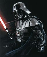 Darth Vader by Ninjacompany