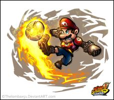 Mario Striker by RatchetMario
