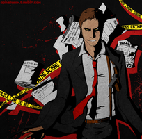 P4: Dojima's Shadow by MrGrayLetters