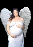 Pregnant Angel by AuroraLadyDeath