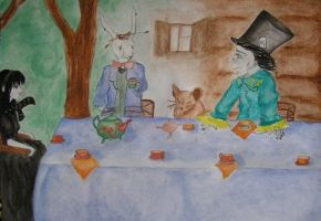 Mad tea party by Alice-fanclub