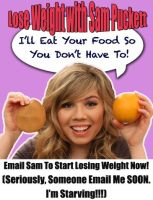 Lose Weight With Sam Puckett by my-nam3iz-n0t-urs