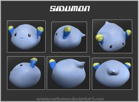 3D Sidumon +download program+ by Cachomon