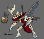 Pokemon BW3 2.0: Fossil Genesect by Midnitez-REMIX
