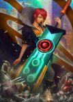 Red: Transistor by neonoir