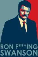 Ron Swanson by Gnuenguemo
