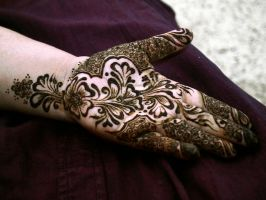 Mehendi for Eid by ishiqa