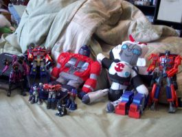 My TF Collection by Pharaoh-Yami