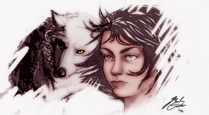 Arya Stark by green-ermine
