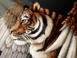 Tigerwings by DragonosX
