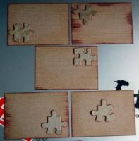 Puzzle ATC by lonesomeaesthetic