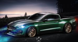 Ford Mustang UTE by TOPvt