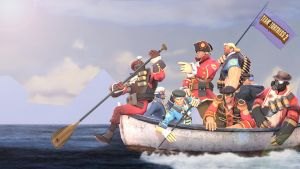 TF2 Boating Crew by xJamesthePunKx