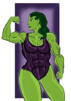 She-Hulk (May 2013) by fmvra1s