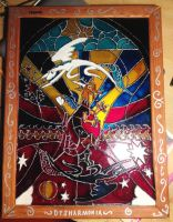 MLP:FIM Stained glass by Fruktus