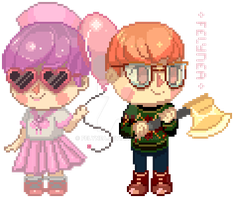 Commission: Acnl Mayors Pixel by Felynea