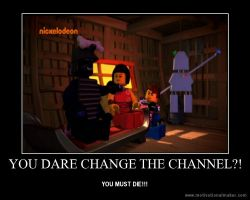 YOU DARE CHANGE THE CHANNEL?! by ChibiCinnamonRoll