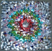Aluminum Flower by saabe