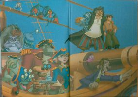 Page from story book by VoyagetoDiscover2013