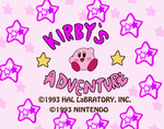 Kirby's Adventure-Title Screen by Rotommowtom