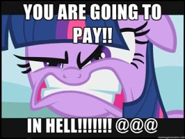 someone is mad mlp fim by sonicandmariox
