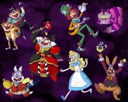 Alice In Wonderland Final by NicParris