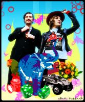 The Mighty Boosh by AdamPollard