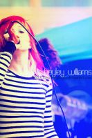 hayley williams from Paramore by xxecchangraphy