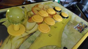 Finished Arcade Stick 2 by Atlas-to-Dreams