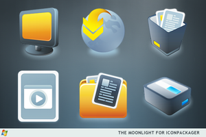 The Moonlight For IconPackager by ipholio