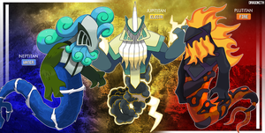 Legendaries - The Titan Kings by Dragonith