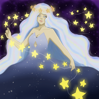 Art Trade: A String of Stars by HinataUzo9