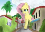 Giant Fluttershy by made-in-donuts