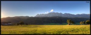 Dachstein Rohrmoos Panorama by deaconfrost78