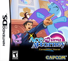 My Little Ace Attorney Turnabout Storm by 1992zepeda