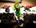 Link Cutting the Cake by PlasticSparkPhotos