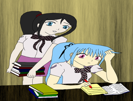 Studying Hard by GD-Lolli