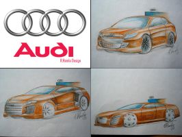 Audi design by Renet555